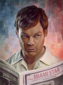 Dexter by qi-art