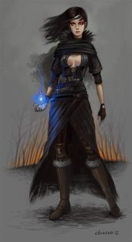 Gloaming Sorceress by orgo