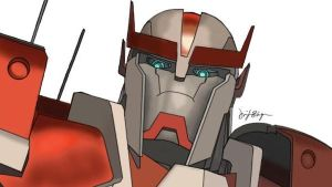Transformers Prime Ratchet by DennisB-Art