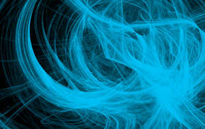 Abstract Blue by rushikh