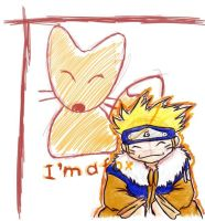 naruto is a FOX by baconstrip