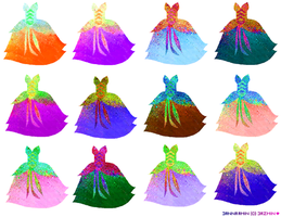 Jewel Encrusted Ballgowns by JaM-FaiRY