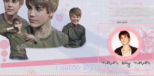 Skin Justin Bieber xWidget by IlyEditions