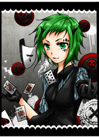 GUMI - Poker Face by wingpai