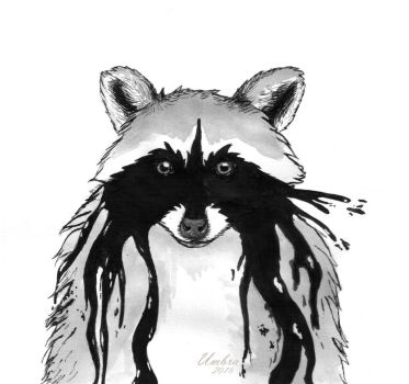 Raccoon's Cry by Zenumbra