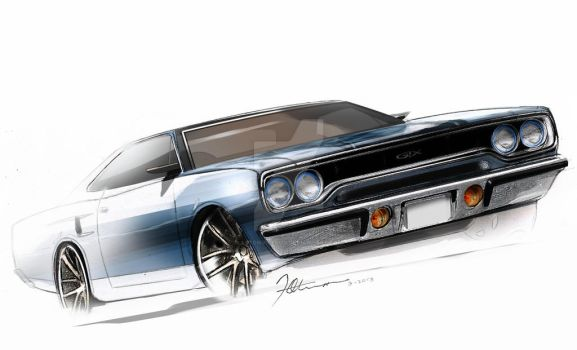 AA GTX sketch by astonviceroy