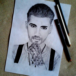 Bill Kaulitz by Mavelynn