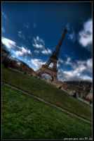 paris - green green grass by haq