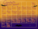 Cremebyte Halloween Advent-OPEN by DreaminDragon