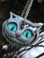 Burton's Cheshire Cat by angelicon