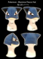Blastoise Hat by LiliNeko