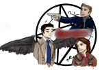 Supernatural Fanart 2 by JulieHK