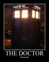 here comes the doctor by FaultyStar15