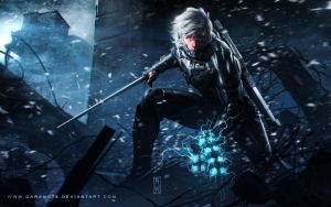 Raiden Metal Gear Rising : Revengeance Tribute by ChekydotStudio