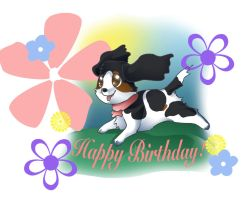 B-dayPup by Shortcake-Middy