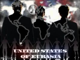 United States of Eurasia by godnessimaginary