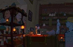 The Shopkeeper by Varguy