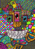 Blackbook - Textile Monster by Loggaa