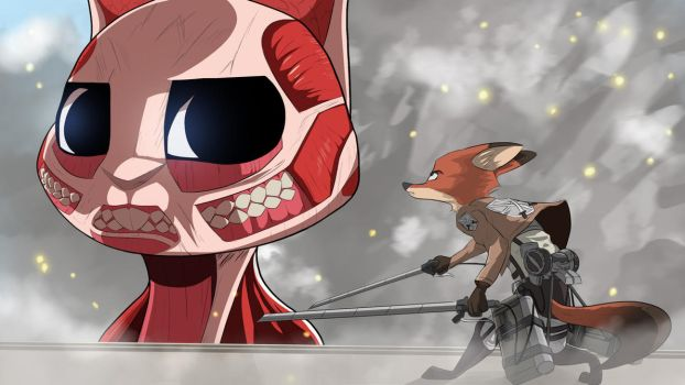 It's Been a While... (Attack on Titan Crossover) by yitexity