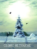 Christmas Scene by 25clad35