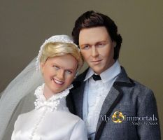 OOAK sculpt Doris Day - Howard Keel in by my-immortals