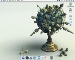 26 July - OS X Desktop by Flahorn