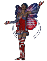 American fairy by Ecathe