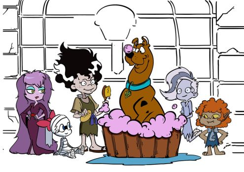 Ghoul School by HairyFood
