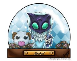 LoL Advent 2015 - Day 13 - Kindred by enchanted-enigma