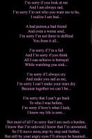 I'm Sorry... by Marija343