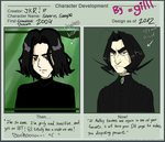 Character Development Meme: Snape by gilll