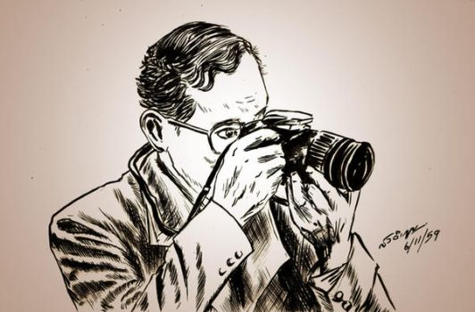 King Bhumibol Adulyadej and Canon Camera by sw-eden