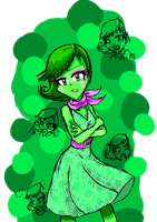 Inside Out: Disgust by CarlyChannel