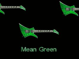Mean Green by puddlz