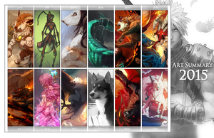 Art summary 2015 by Grypwolf