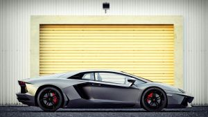 Lamborghini Aventador Side View by DutaAV
