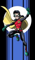 Sketchbook - Robin by LucianoVecchio