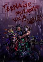 TURTLES Final Fight by MightyMoose