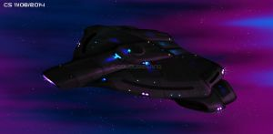 Orchid Class Stealth Warship by Colourbrand