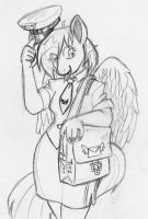 Ponyville's Favorite Mailmare by BaikoBits