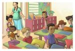 First Day Of School Jitters by WilsonWJr