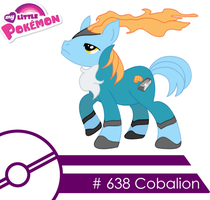 Cobalion -MLP Style- 'Colored' by Vicarious-Oblivion