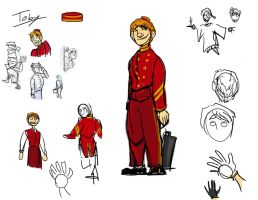 Toby Designs by theTieDyeCloak