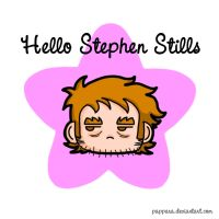 Hello Stephen Stills by Pappara