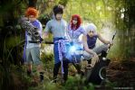 Naruto - Sasuke's team by vaxzone