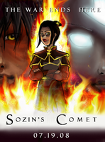 Sozin's Comet Poster Entry by panda101324