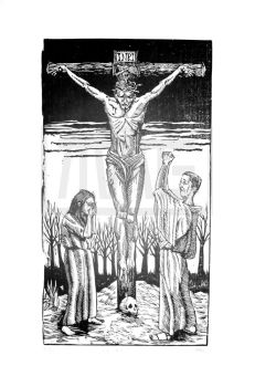 Crucifixion by MAGPrintmaker