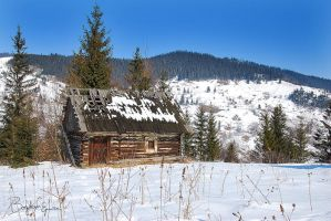 The hut in the mountains by BogdanEpure