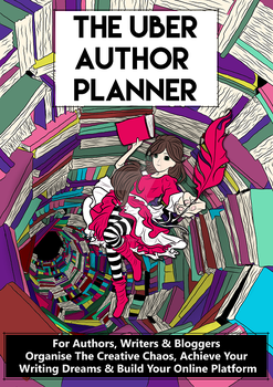 Cover Art - The Uber Author Planner by EldritchRubies