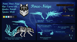 Ref Sheet: Perce-Neige by Saekhtis